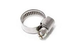Sachet de 10 colliers de serrage metal à cremaillere 12x20