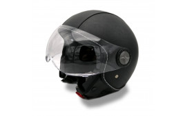 Casque Jet VITO ROMA (Cuir Series) Taille XS