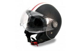 Casque Jet VITO ROMA (Cuir Series)  Taille XL