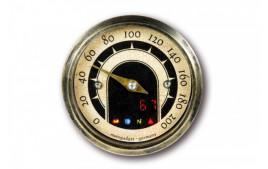 MOTOGADGET MST Vintage , 49mm analog Compteur vitesse, avec Homologué. Expédié sous 3 jours en moyenne.