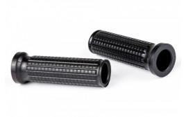 MOTOGADGET Caoutchouc mo.grip Soft, noir, pour 1 pouce / 25,4 mm Lenker, Ende offen, Paire. EXPEDITION IMMEDIATE