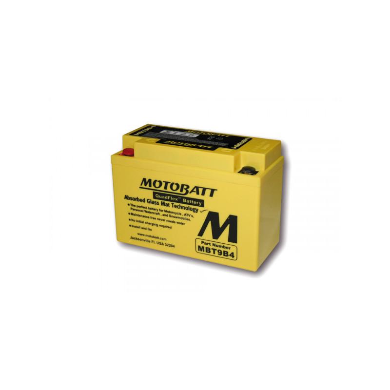 Batterie MOTOBATT MBT9B4 (4 Poles)