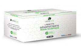 BOITE 40 LINGETTES HYDROALCOOLIQUES (Conçu et Fabriqué en FRANCE - IRONTEK)