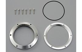 Couvercle en aluminium anodisé argent pour instruments VELONA 60