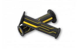 D-LINE Paire de poignées, yellow, pour 7/8 pouce guidons, open end
