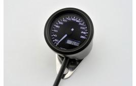 DAYTONA digital vitesse VELONA 48mm 260 km/h. Homologué, avec supports de fixation, retroéclairé