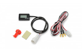 DAYTONA Digital capteur température d'huile COMPACT, -9 à 150 degrés, 1/8 pouce, alarm 4 degrés / 121 degrés, waterproof