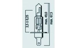 Ampoule H1 12V 55W - P14.5S