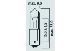 Boîte 10 ampoules 12V 20W BA9S MINI HALOGENE