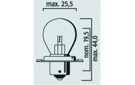Ampoule S3 12V 15W P26S