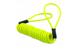 Cable de rappel antivol jaune fluo REMINDER