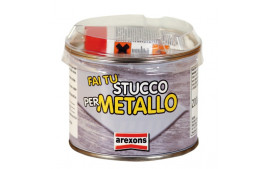 Mastic Métal Aluminium avec durcisseur 200g Arexons