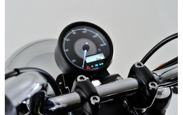DAYTONA Compteur aiguille VELONA 80, 140km/h, avec compte-tours LCD