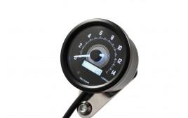 DAYTONA Digital compte-tours, VELONA 2, noir 60 mm, 14000 trs/min, avec support