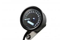 DAYTONA Digital compte-tours, VELONA 2, noir 60 mm, 15000 trs/min, avec support
