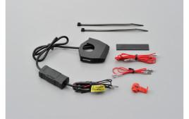 DAYTONA SLIM TYPE Prise USB x 2 pour fixation au guidon