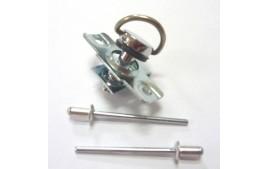 Kit de 10 fixations à riveter longueur 14 mm