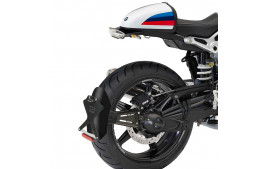 "SUPPORT DE PLAQUE ""SIDE CLASSIC"" NOIR BARRACUDA BMW R NineT Pure"