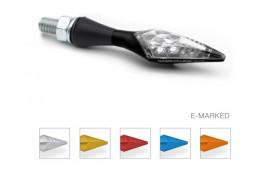 Clignotant S-LED B-LUX ARGENT (paire) BARRACUDA