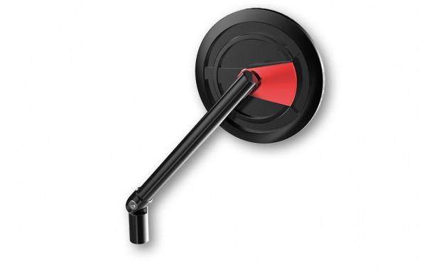 rétroviseur CNC HIGHSIDER ENTERPRISE-EP1, rouge