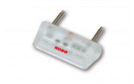 KOSO Mini éclairage de plaque à LED, transparent