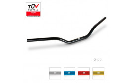 GUIDON RACING 22mm NOIR BARRACUDA