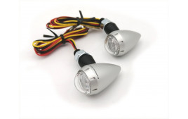 S-LED3 B-LUX ARGENT (paire) BARRACUDA