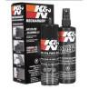 K&N Kit nettoyage filtre à air lubrifiant