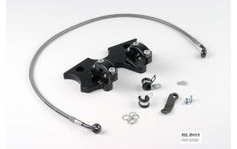 LSL Kit Conversion SUPERBIKE BMW K1200R (K12R), 05-08, noir, (Typ G)