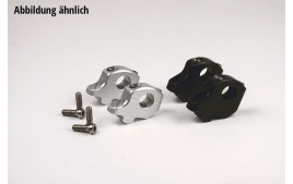 LSL Bar clamps 22 BMW R 1200 R, noir