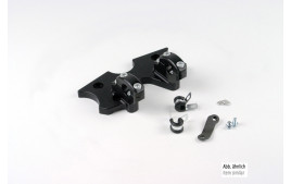 LSL SB-Pontets guidon kit HONDA CBX 750 F, (RC17) 84-86, noir