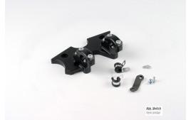 LSL SB-Pontets guidon kit CB900/CBX1000, noir