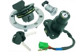 Contacteur a cle + bouchon reservoir adapt. hyosung