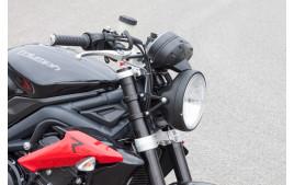LSL Headlight Eighties 7 inch/LTD-Style, noir rim
