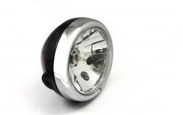 LSL Six Days headlight, noir/chrome, H4