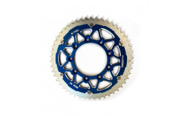 Couronne Bi-Métal S-TEEL Anti-Boue TM Pas 520 Noir/Bleu 50 dents