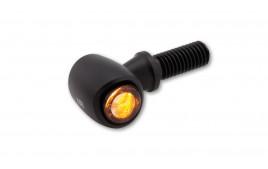 LSL NOVA-PRO LED turn signal, noir, tinted, pair, E-approved
