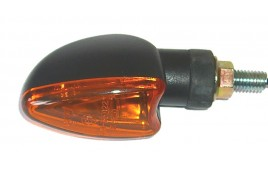 Paire de clignotants à ampoule SHORT - NOIR