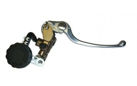 Maître cylindre de frein complet Ø 19 mm - ARGENT & TITANE