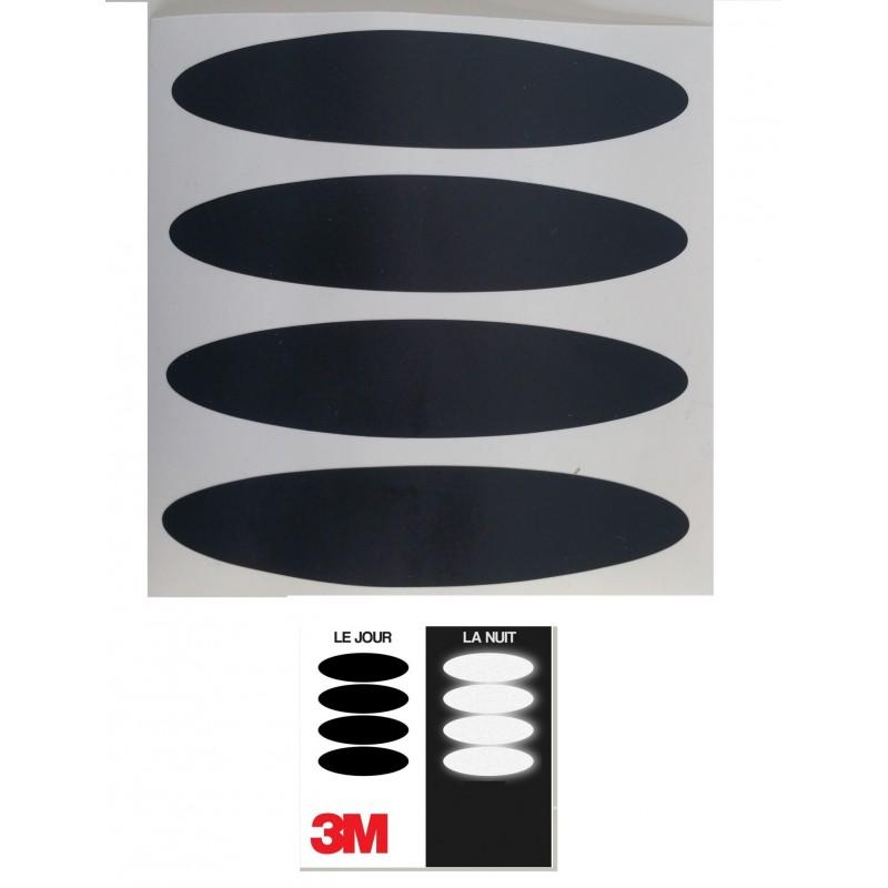 sticker casque 3m retro reflechissant europ 39 acc. Black Bedroom Furniture Sets. Home Design Ideas