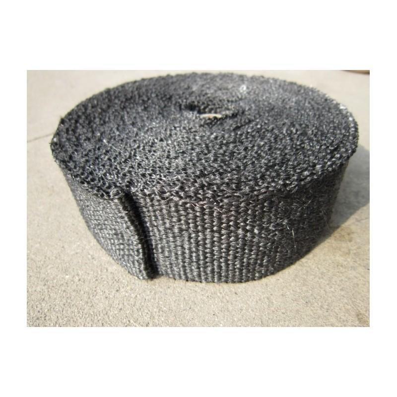 bande thermique echappement noire 50mm de largeur europ 39 acc. Black Bedroom Furniture Sets. Home Design Ideas