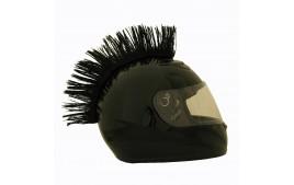 Crète de casque NOIRE