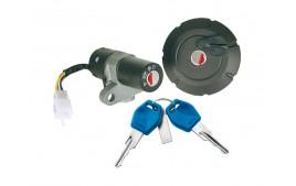 Contacteur à clé + bouchon réservoir adapt. YAMAHA XT 125 R/X