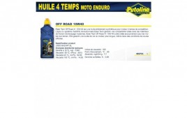 Huile 4 Temps Off Road 10W40 , semi-synthétique, 1L PUTOLINE