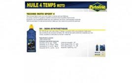 Huile 4 Temps S4 10W40 , semi-synthétique, 4L PUTOLINE