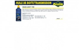 Huile Gear light 75W , , 1L PUTOLINE