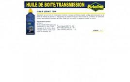 Huile Gear light 75W , , 1L PUTOLINE