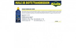 Huile Gear medium 80W , , 1L PUTOLINE