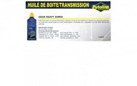 Huile Gear heavy 80W90 , , 1L PUTOLINE