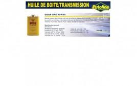 Huile Gear SAE 10W30 , , 500ML PUTOLINE